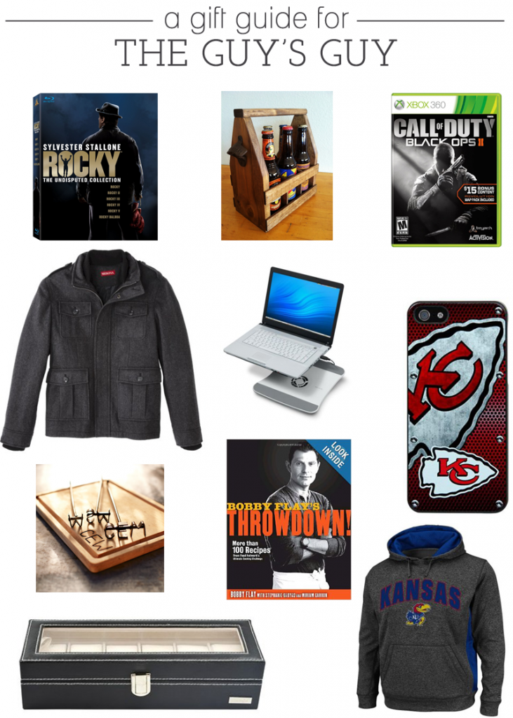 A Gift Guide for The Guy's Guy