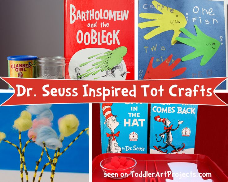 7 Dr. Seuss Crafts {by book}