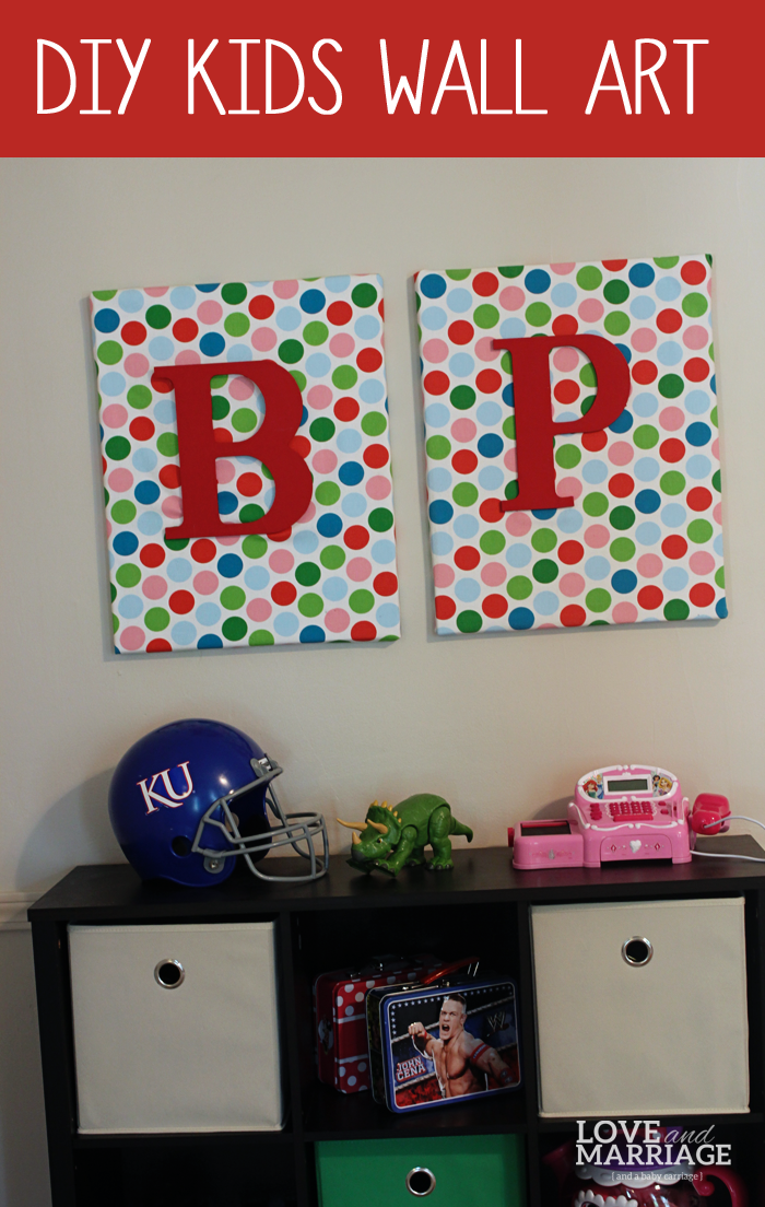 DIY Wall Art {for kids rooms}