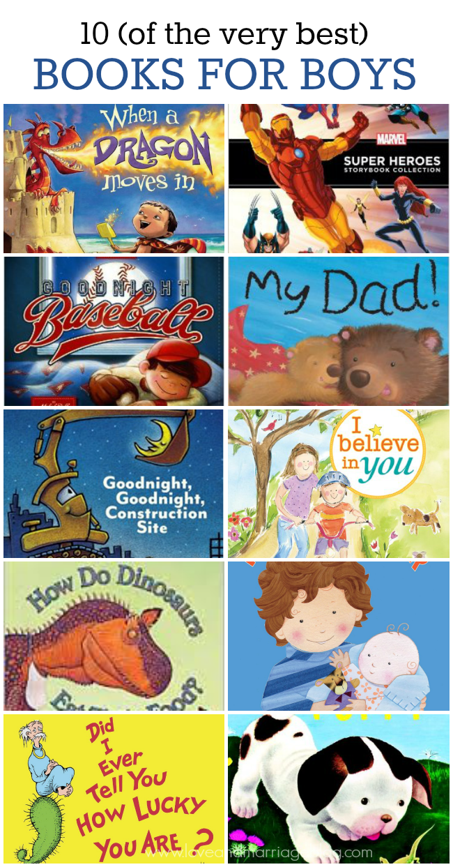 10 of the Best Books for Boys