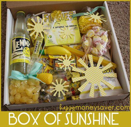 Box of Sunshine from HappyMoneySaver.com