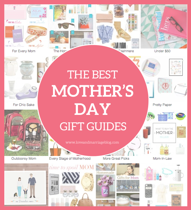 All the best Mother's Day gift guides in one place!