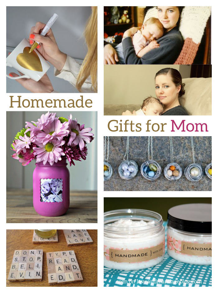 7 Homemade Mothers Day Gifts