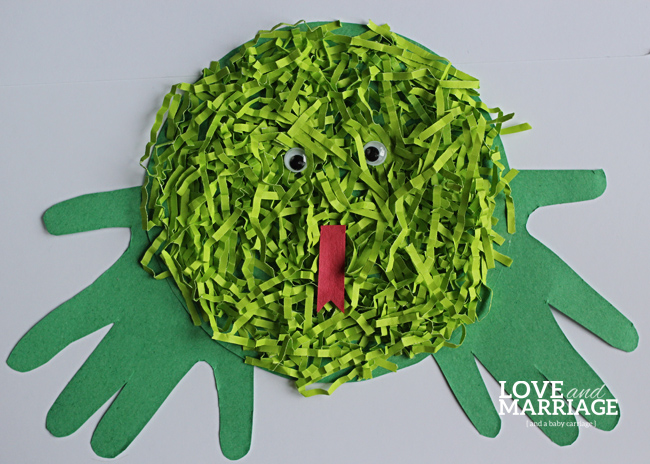 Frog Craft for Kids #crafts