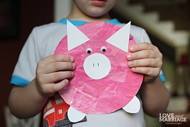 Peppa Pig Inspired Kids Craft Love And Marriage