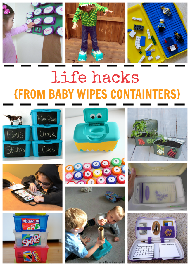 17 Baby Wipe Container Hacks