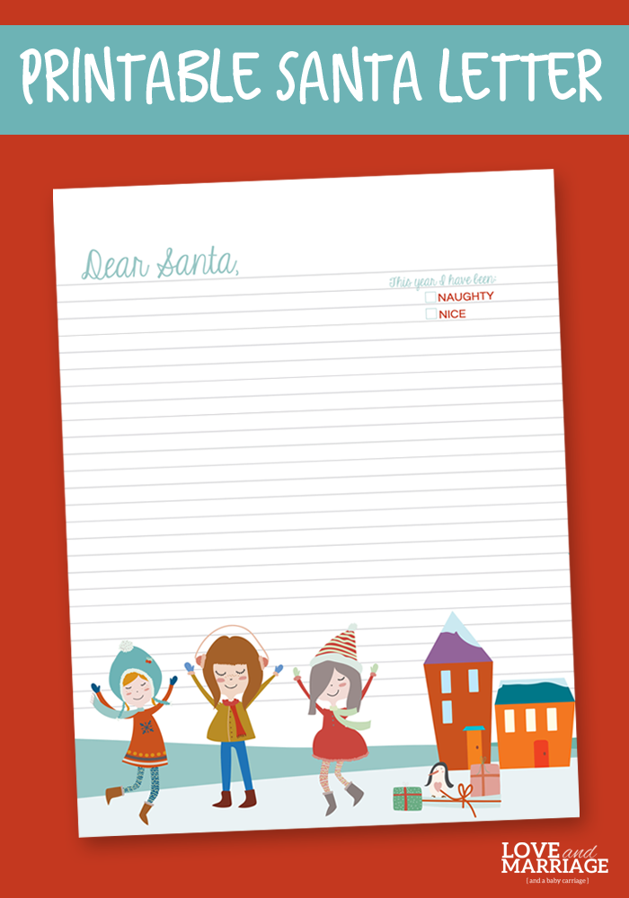 free printable letter to and from santa sohosonnet free printable letter to santa and marriage 243