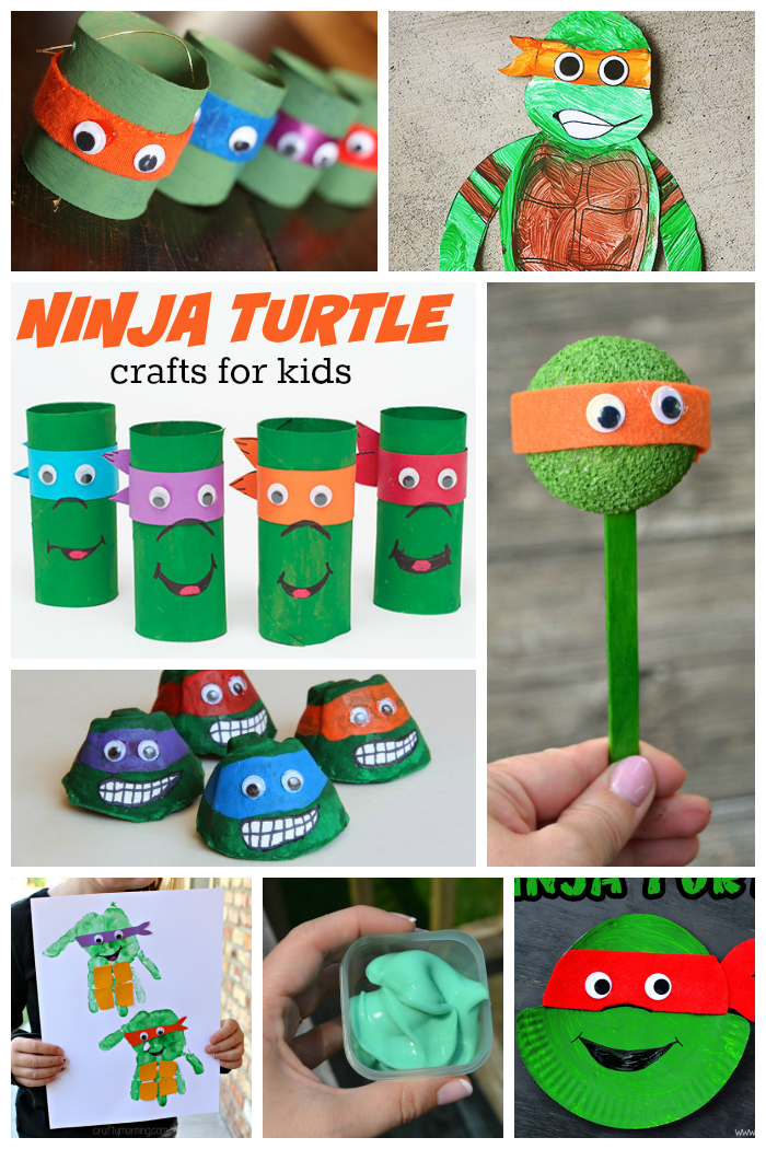 15 Incredible Ninja Turtle Crafts