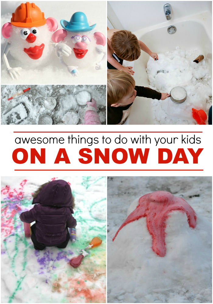 Awesome Snow Day Activities for Kids