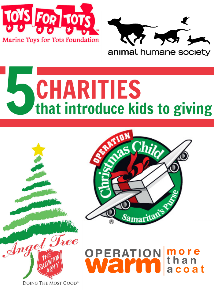 5 Charities That Introduce Kids to Giving