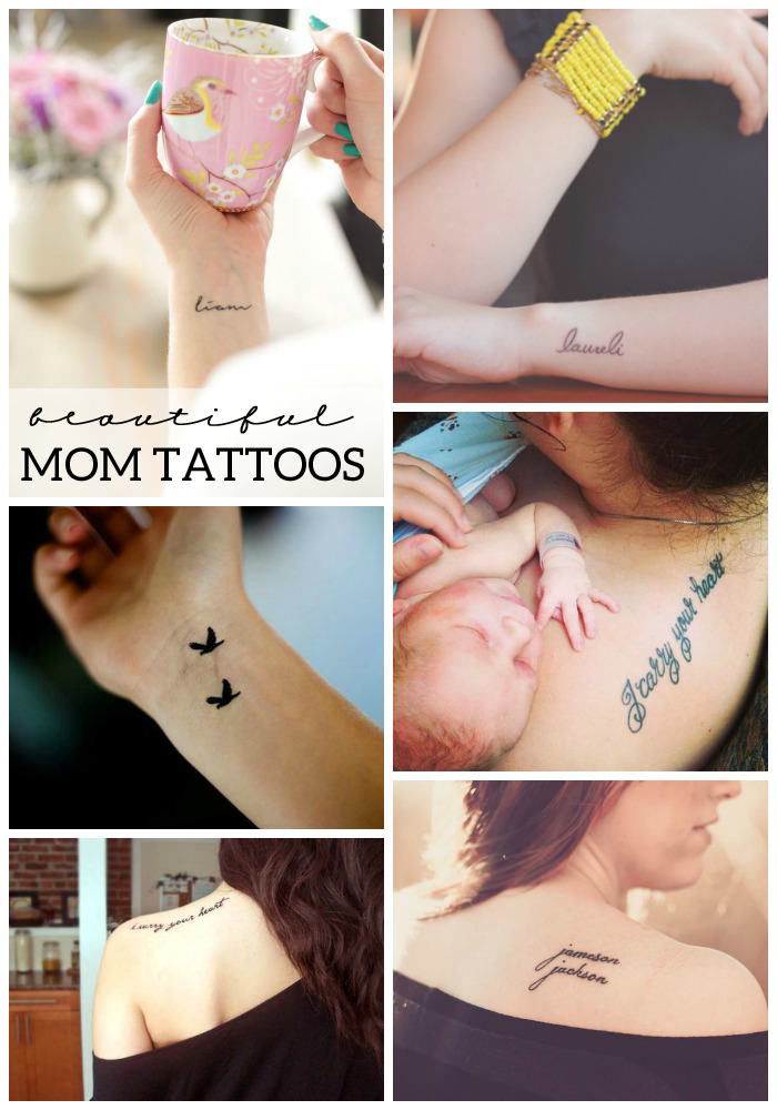12 Beautiful Mom Tattoos Love And Marriage
