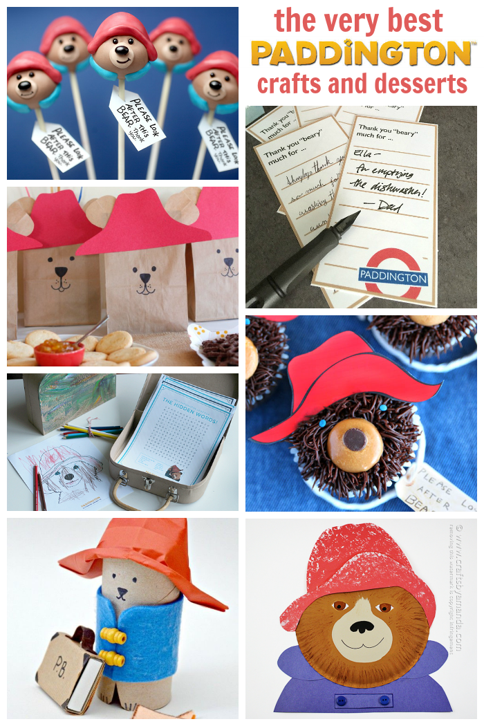 The Cutest Paddington Bear Crafts