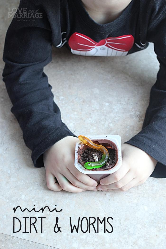Mini Dirt Pudding