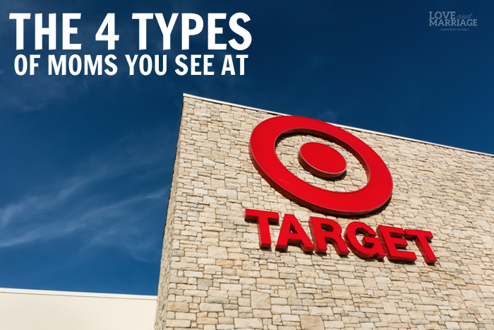 The 4 Types of Moms You See At Target