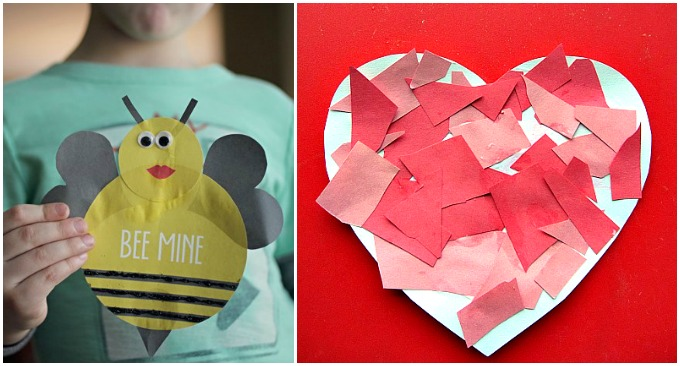 10 Valentine Crafts for Little Ones