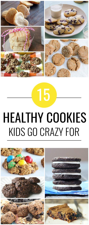 15 Healthy Cookies Kids Will Devour