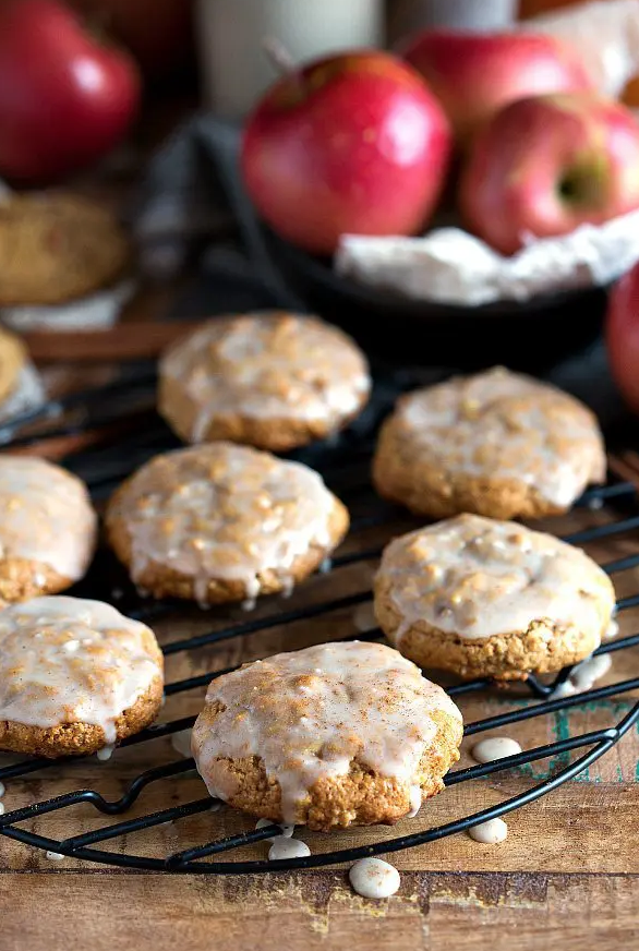 Glazed Apple Pie Cookies