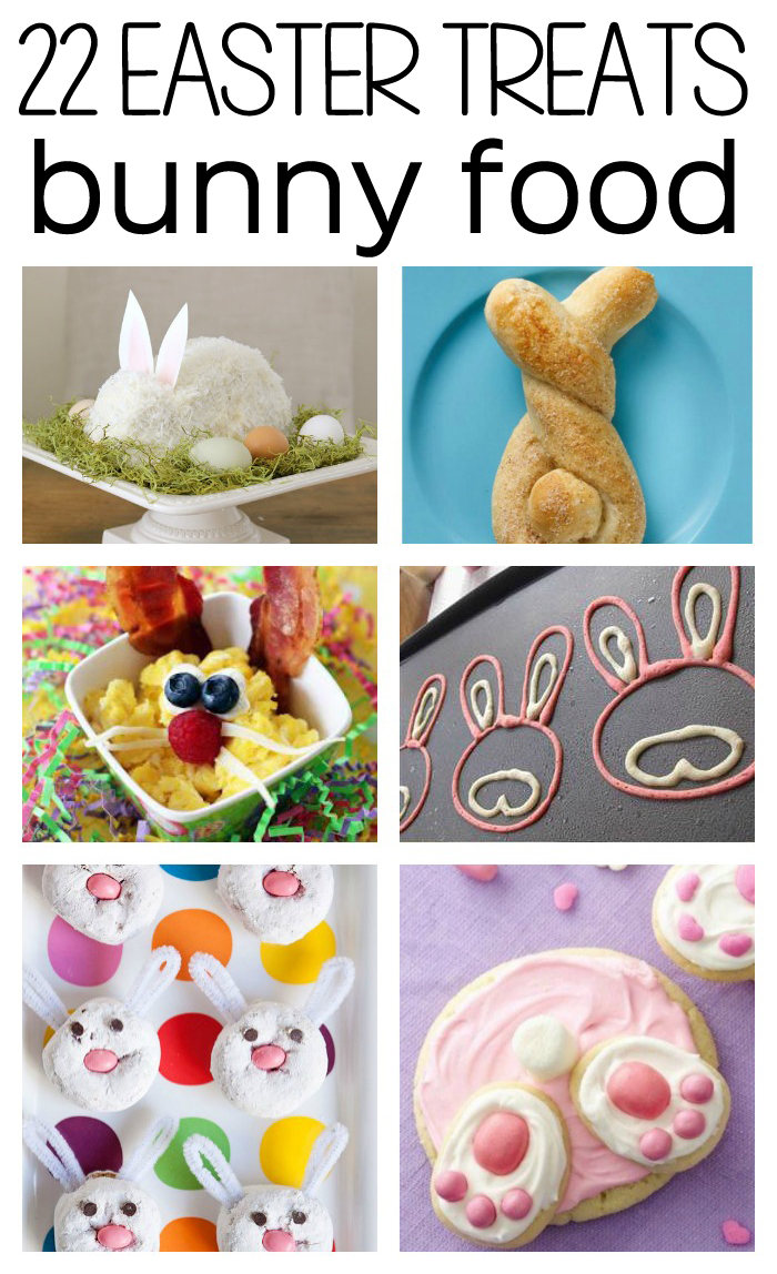 These bunny & Easter inspired treats are ADORBS and I can't wait to make them all! So easy, too. Excited for spring and for Easter!