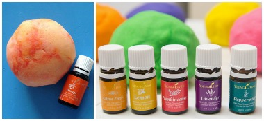 Essential Oil Play Dough