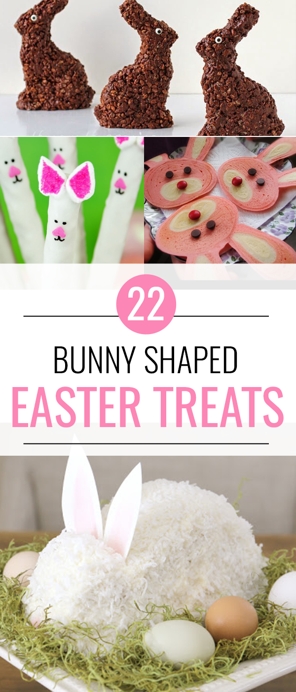22 Bunny Shaped Easter Treats
