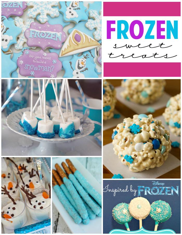 25 Fabulous Frozen Birthday Treats