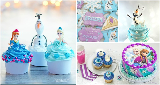 25 Fabulous Frozen Birthday Treats