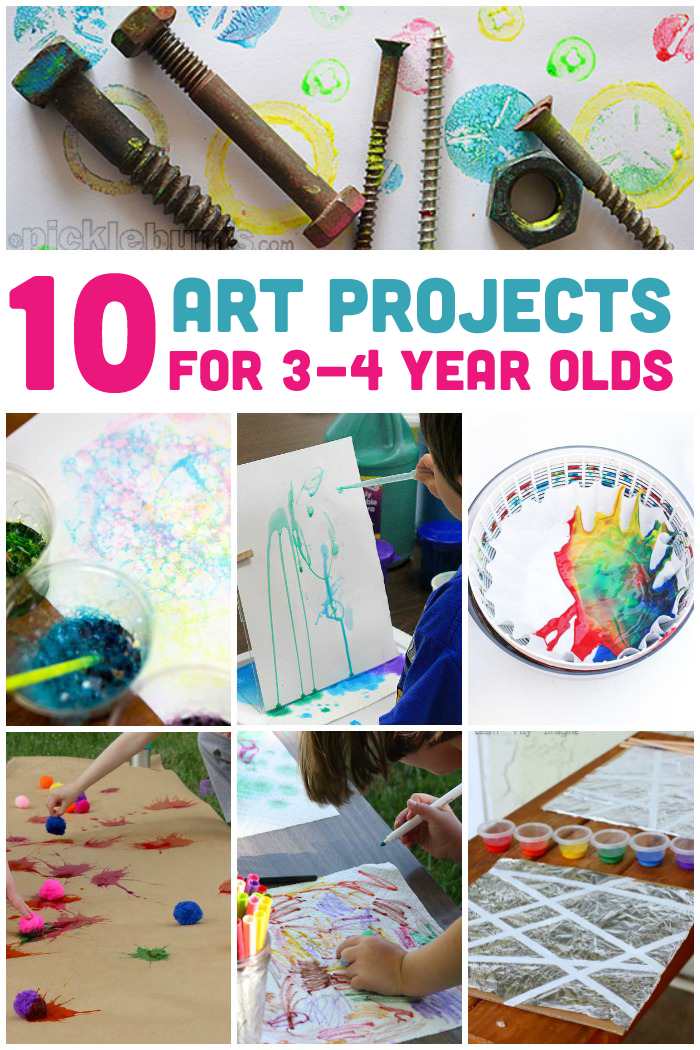 10 Awesome Art Projects For 3-4 Year Olds-4894