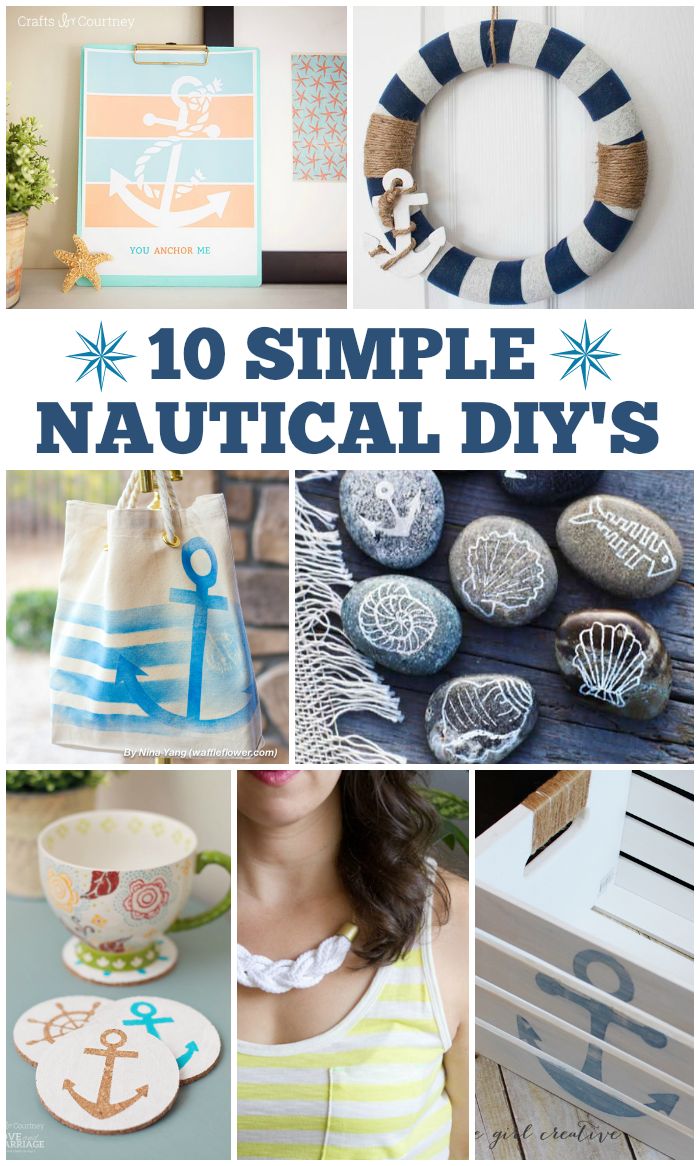10 Simple Nautical Diy S Love And Marriage