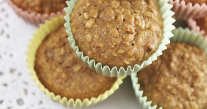 Sneaky Carrot & Brown Sugar Muffins for Kids