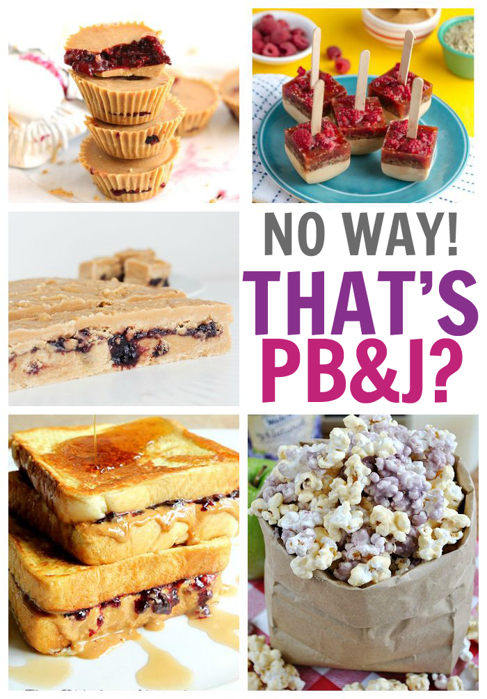 25 Crazy Cool Ways to Make Peanut Butter and Jelly
