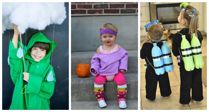 10 Easy DIY Halloween Costumes for Non-Crafty Moms