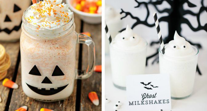 Halloween Milkshake Recipes
