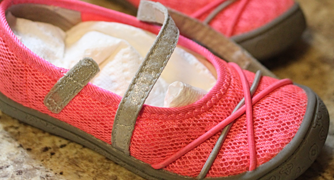 The Simple Solution for Stinky Shoes