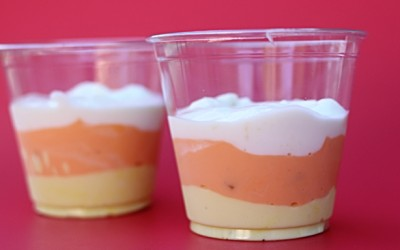 Healthy Candy Corn Dessert