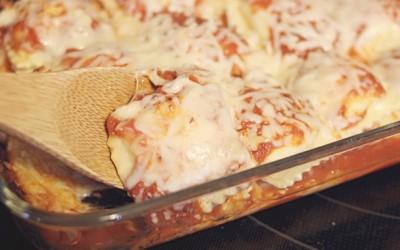 3 Ingredient Cheesy Ravioli