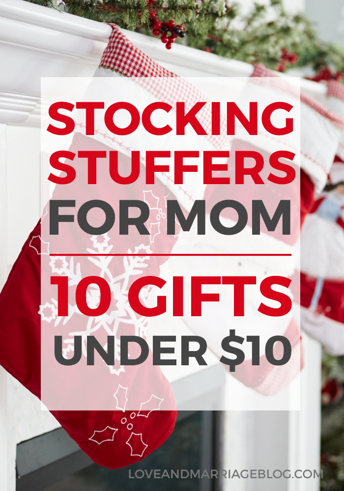 Stocking Stuffers For Mom