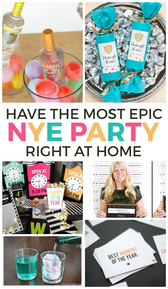 20 ways to have an epic at home new years eve party publicscrutiny Choice Image