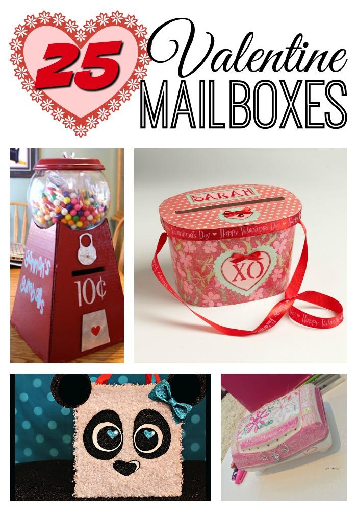 25 Valentine Mailboxes
