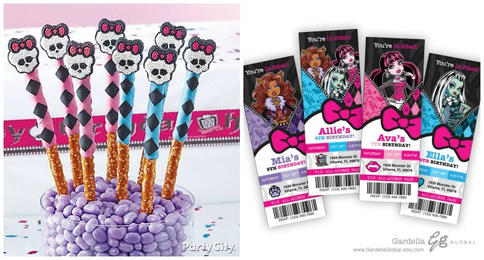 20 Awesome Monster High Party Ideas