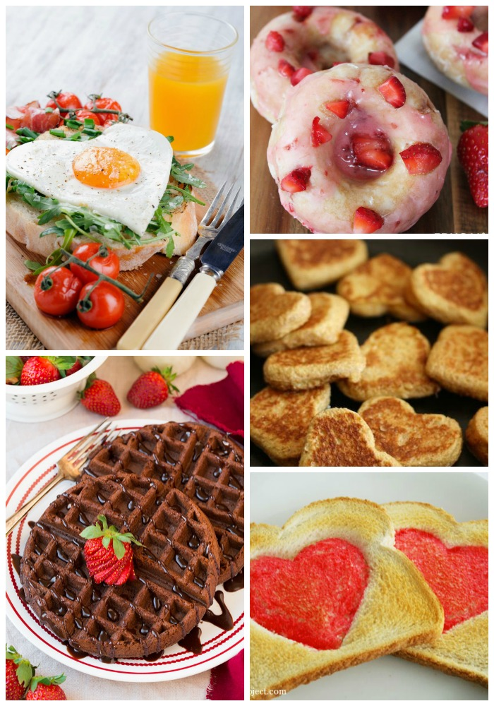 20 valentine's day breakfast ideas - love and marriage, Ideas
