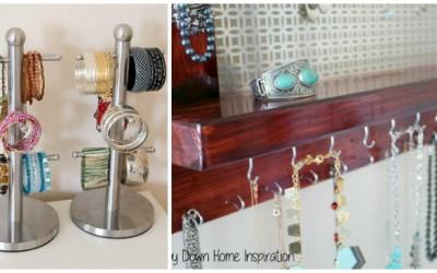 21 DIY Jewelry Organization Ideas