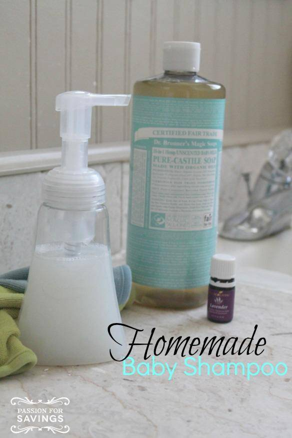 Homemade Baby Shampoo DIY