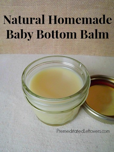 Homemade Baby Bottom Balm