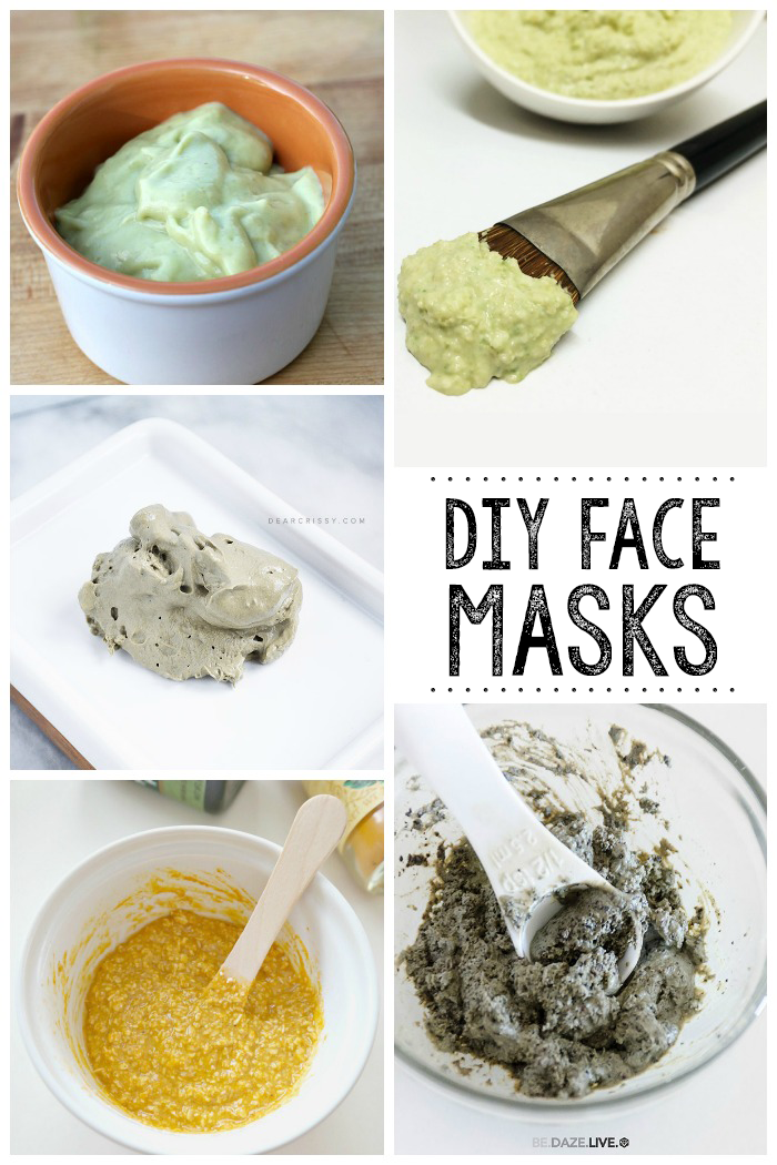 DIY Face Mask | You can make all of these right at home for smoother and healthier skin.