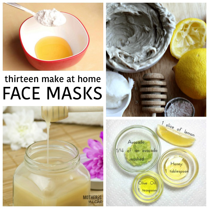 13 Incredible DIY Face Masks
