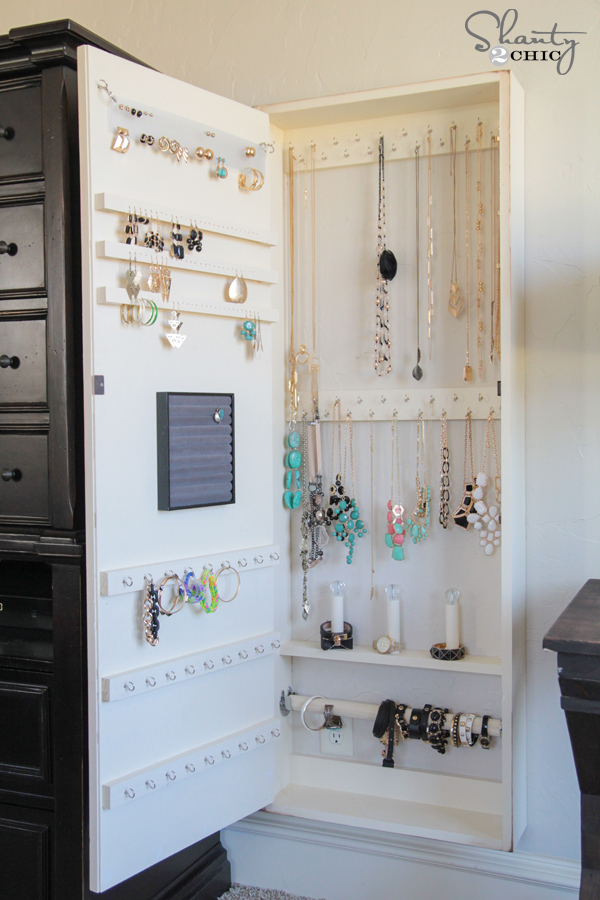 21 DIY Jewelry Organization Ideas Love and Marriage