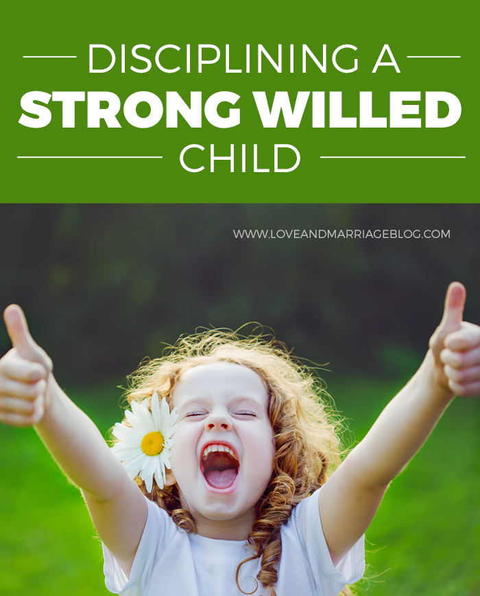 Tips For Disciplining Your Strong Willed Child