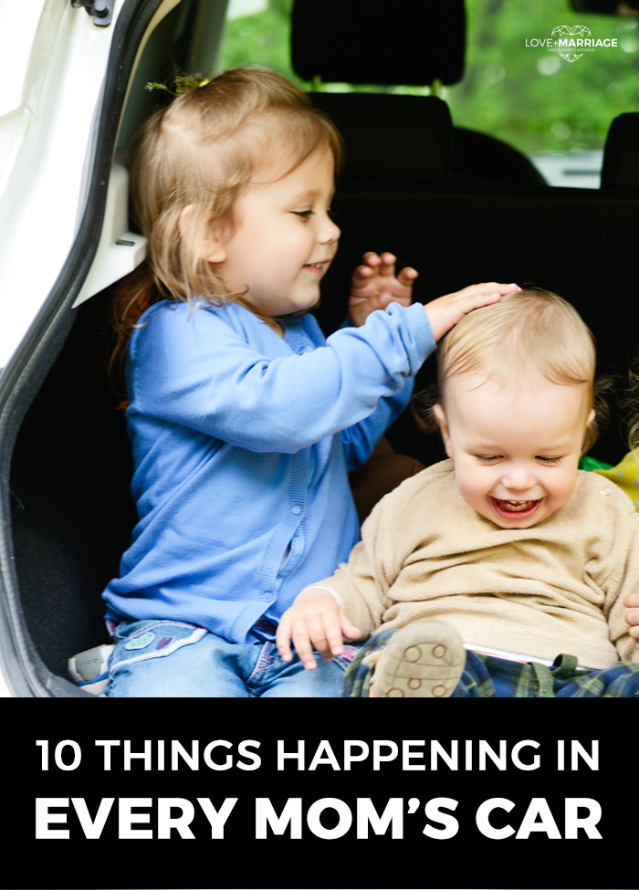 10 Things Happening In Every Mom's Car