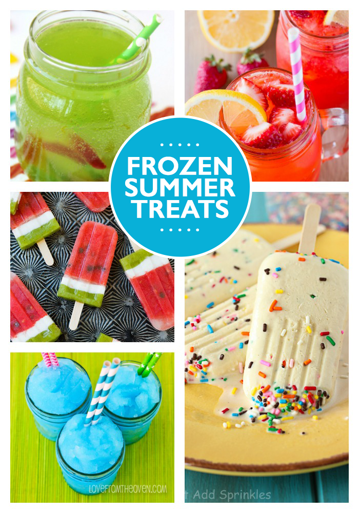 22 Fun Summer Snacks & Drinks