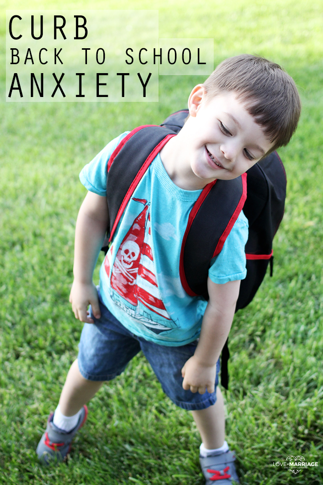 3 Ways To Curb Back To School Anxiety